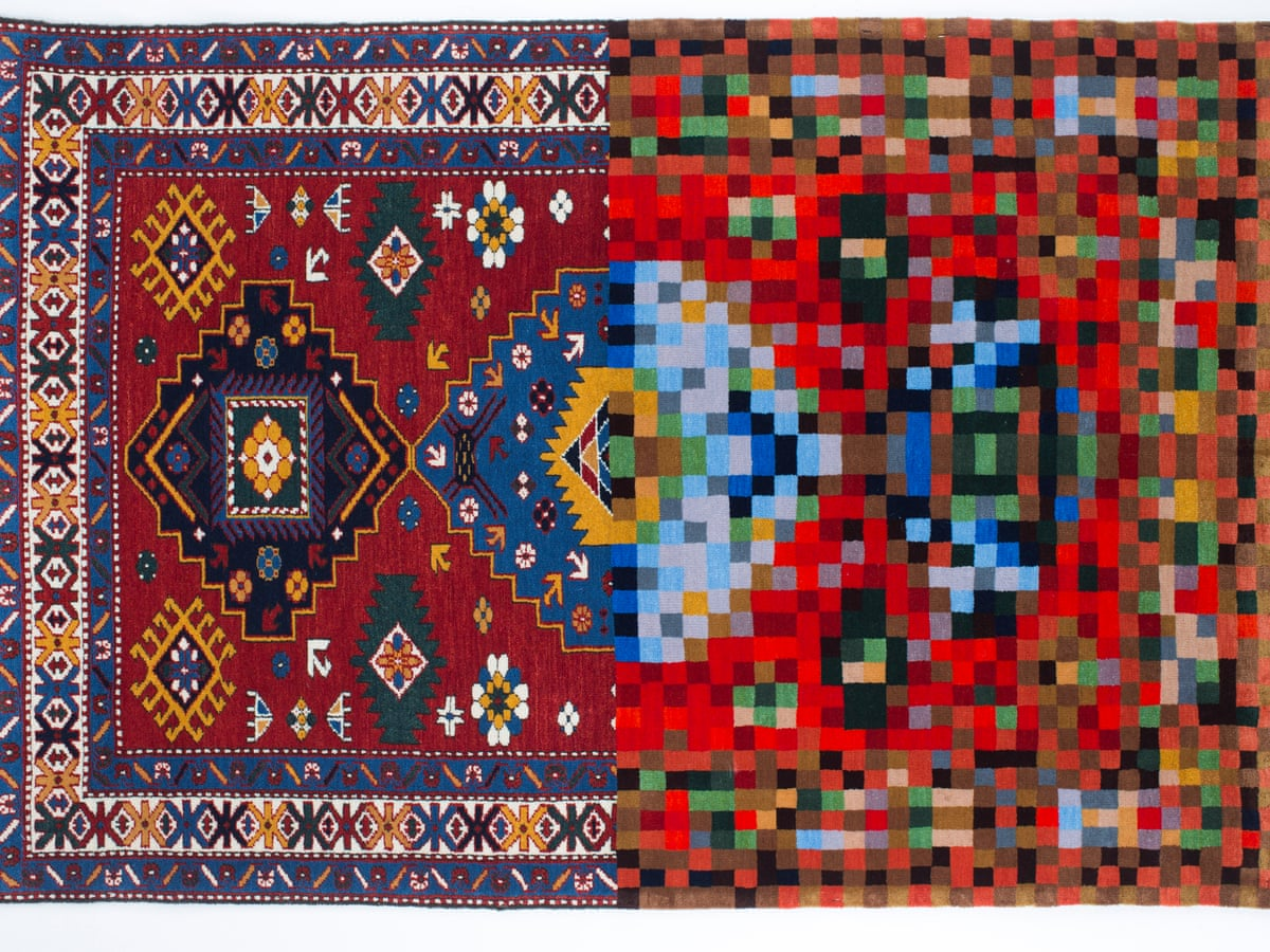 Magic carpets: the art of Faig Ahmed's melted and pixellated rugs   Art and  design   The Guardian