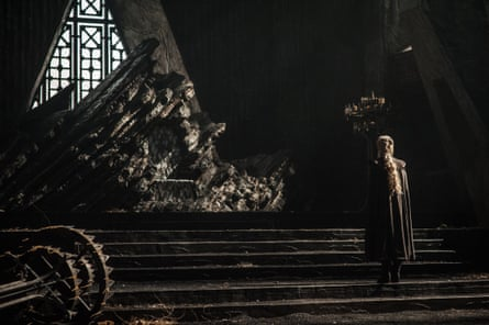 Has all the virtues that have made the series so feted … Emilia Clarke as Daenerys in Game of Thrones.