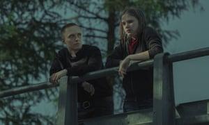 Unsettling … Bartosz Bielenia and Eliza Rycembel in Corpus Christi.