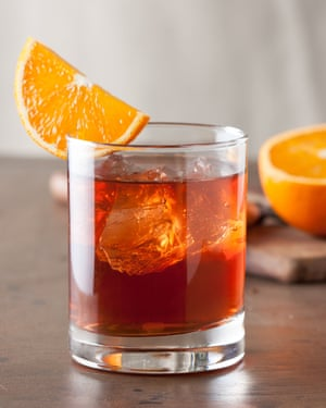 You can premix and freeze any stirred cocktail, such as the negroni.