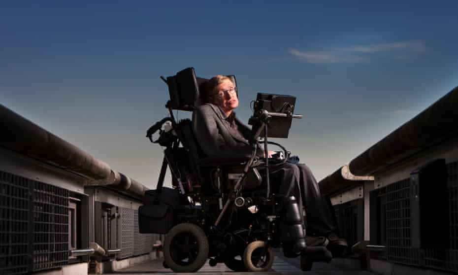 Professor Stephen Hawking in 2005.