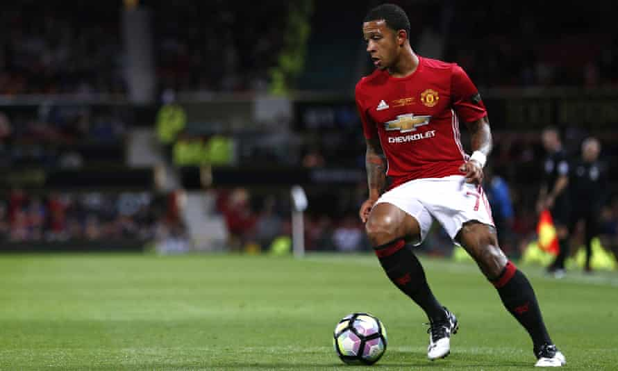 Memphis Depay joined Manchester United from PSV Eindhoven for €34m in 2015.