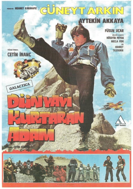 The original poster for Turkish Star Wars.
