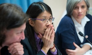 Directors of MSF Isabelle Defourny, Joanne Liu and Raquel Ayora deplored the attacks on hospital sites in Syria