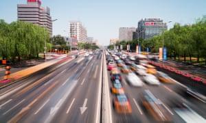 Traffic in Beijing