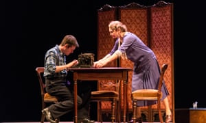 'Escape is impossible': Michael Esper and Cherry Jones in The Glass Menagerie at King's theatre.