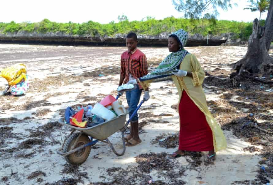 World Oceans Day Beach clean, Zanzibar