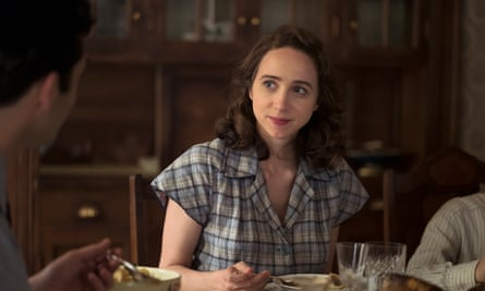 Zoe Kazan as Bess in The Plot Against America.