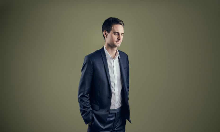 Evan Spiegel … 'I think it's very exciting now that technology is playing a much bigger role in art.'