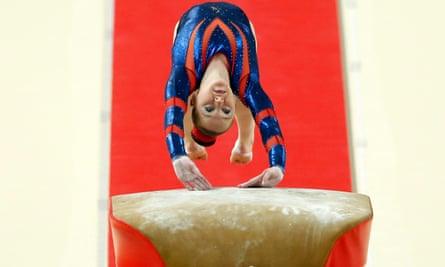 British gymnast Amy Tinkler