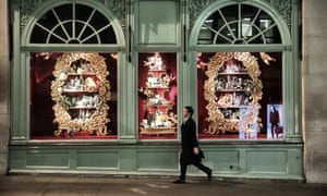 Fortnum & Mason department store on Piccadilly, London