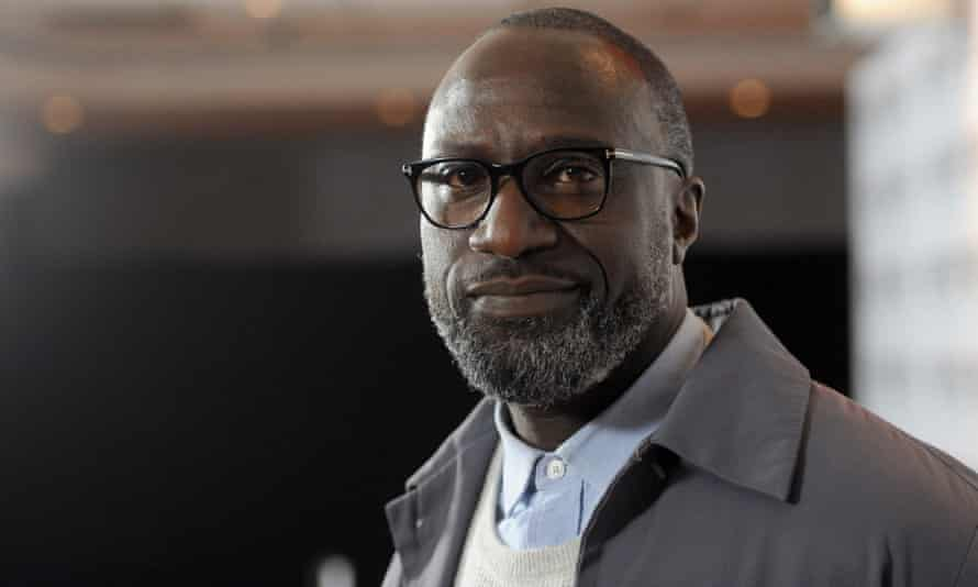 George Amponsah at a screening of The Hard Stop during the BFI London Film Festival last year.