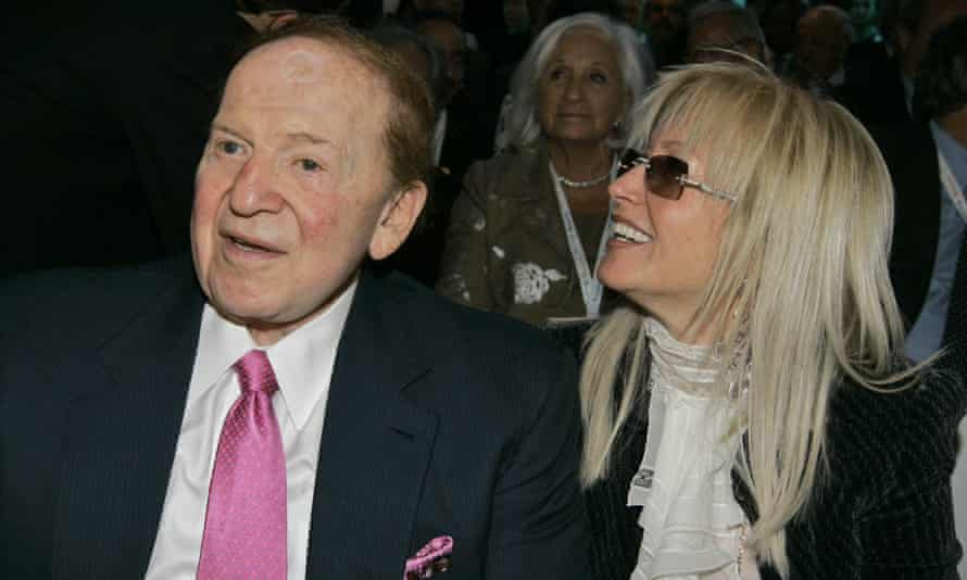 Las Vegas Sands chairman Sheldon Adelson has suggested he listens closely to his wife.