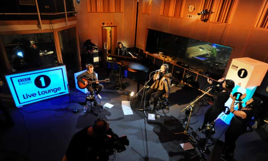 Adele performing at Maida Vale Studios in 2011.