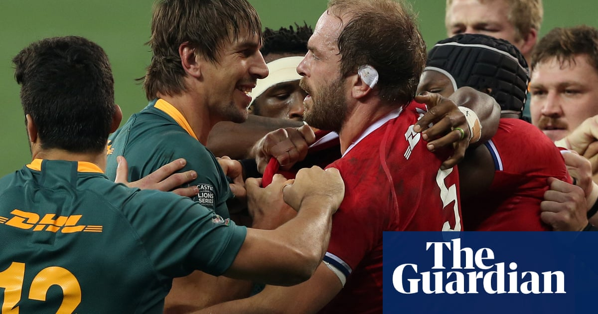 Lions told they are welcome to 'play touch rugby' as Springboks defend style