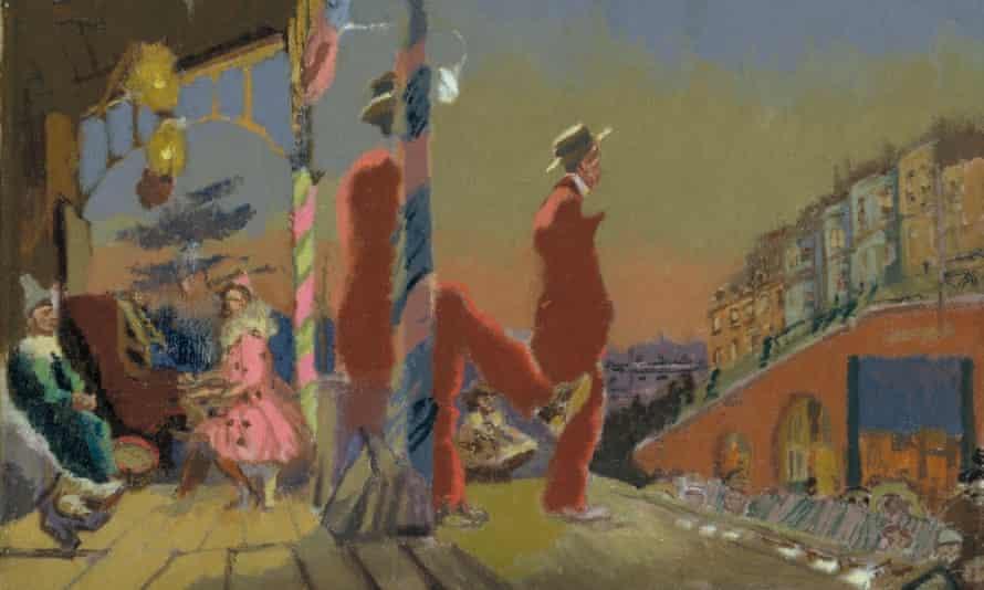 Brighton Pierrots 1915, part of the Walter Sickert retrospective at Tate Britain.