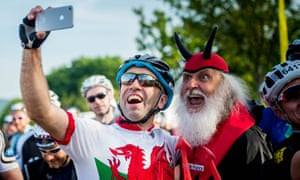Breathing fire: the Dragon Tour takes place in Wales every June.