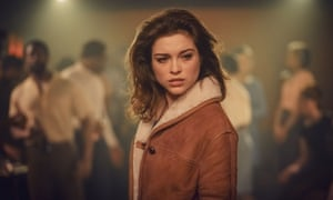 'I still had a lot to learn' ... Sophie Cookson in The Trial of Christine Keeler. Photograph: Ben Blackall/Ecosse Films/BBC