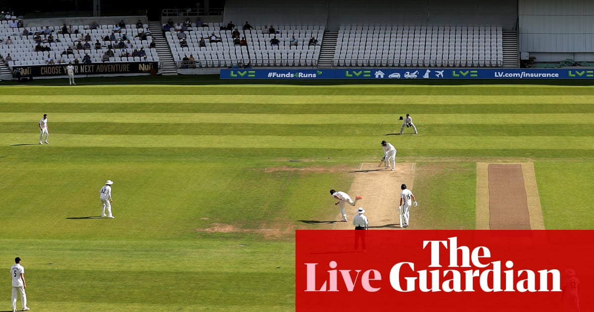 Yorkshire v Sussex, Somerset v Hampshire and more: county cricket – live!