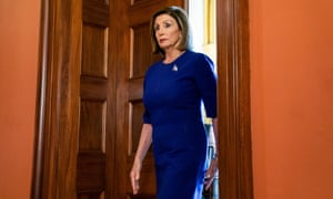 Speaker Pelosi faced increased pressure to endorse impeachment amid allegations that Trump pressured the Ukrainian president to investigate Joe Biden's son.