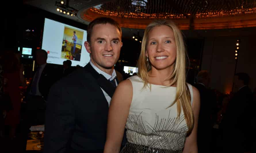 Chase Coleman, the founder of Tiger Global Management, left, with his wife, Stephanie.