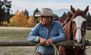 Yellowstone review – Kevin Costner's big budget series is a