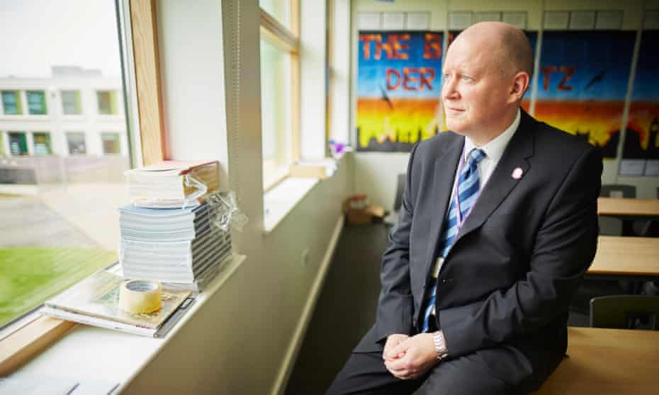 Simon Barber, headteacher at Holy Trinity School in Barnsley … 'Appointing a new head of maths was a nightmare.'