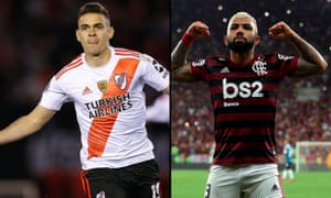 Rafael Santos Borré (left) and Gabriel Barbosa (right), both center forwards, could be game defining.