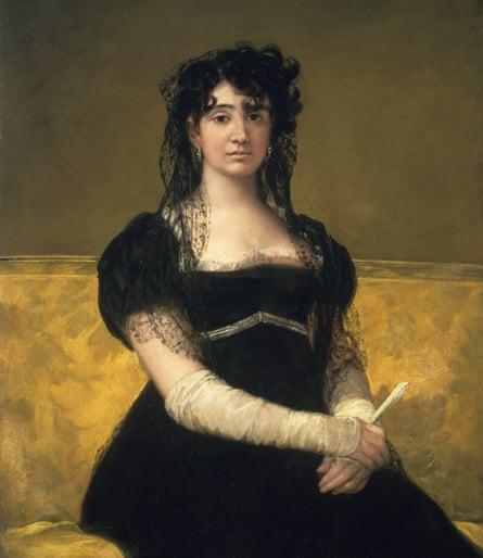 Antonia Zárate (about 1805), Francisco Goya.