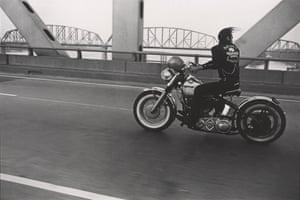 Crossing the Ohio river, Louisville, 1966