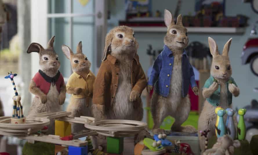 Hit sequel … Peter Rabbit 2.
