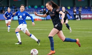 Scotland winger Caroline Weir has been in phenomenal form for Manchester City this season.