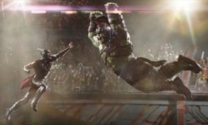 Rollercoaster ride … Thor: Ragnarok.