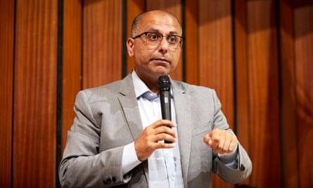the former Tory MEP Sajjad Karim.