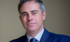 Jonathan Bartley, who is running for the Green party leadership with Caroline Lucas