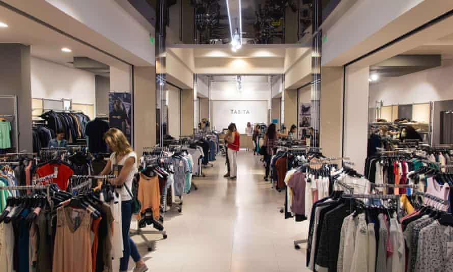 Tabita clothes shop in Cluj Romania