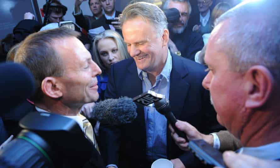 Tony Abbott and Mark Latham