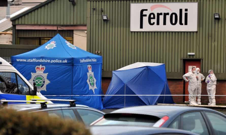 The Ferroli factory in Branston.
