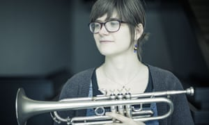Can hold her own on any jazz bandstand on earth … Laura Jurd.