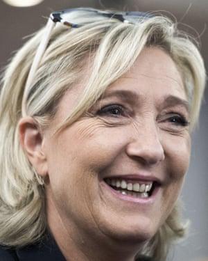 Marine Le Pen Front