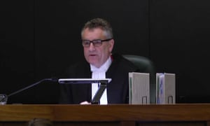 The president of Victoria's court of appeal, Chris Maxwell.
