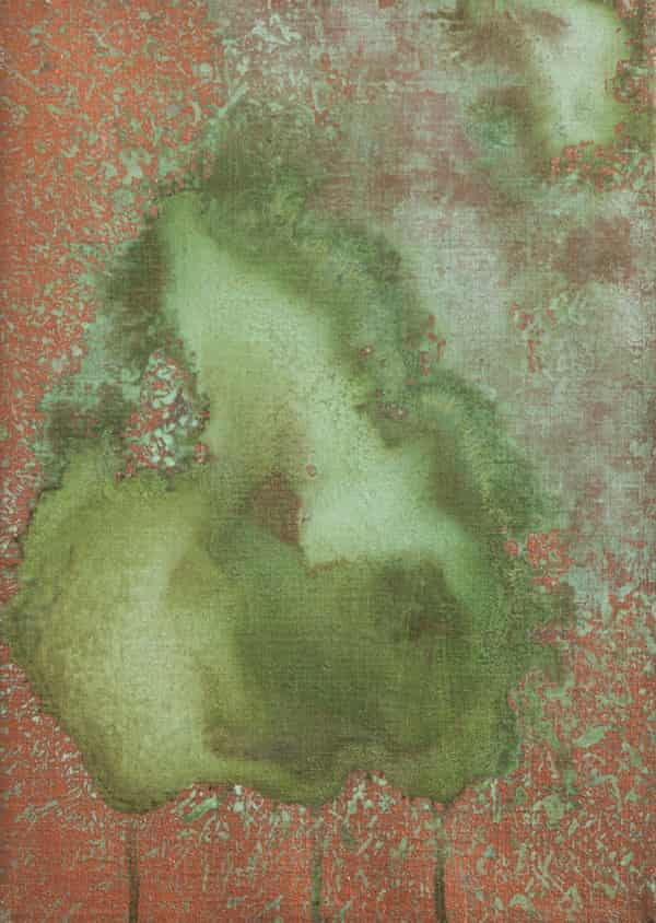 An untitled Oxidisation painting from 1978.