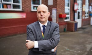 Andrew Moffat, assistant headteacher at Parkfield community primary school in Birmingham.