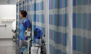 Nurse in A&E unit