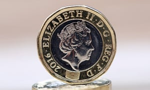 The 12-sided UK £1 coin will have local versions in UK territories and dependencies.