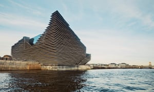 V&A Dundee on the banks of the river Tay.