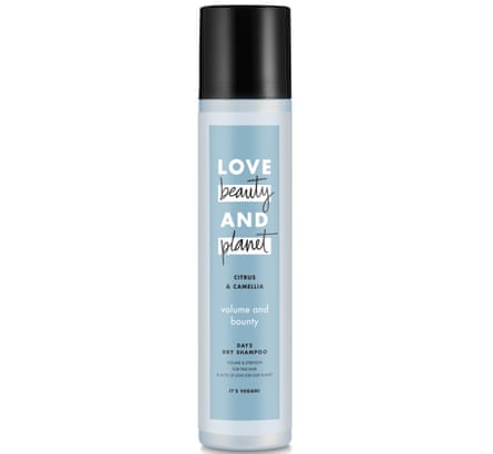Love Beauty and Planet Volume and Bounty Citrus and Camelia Dry Shampoo