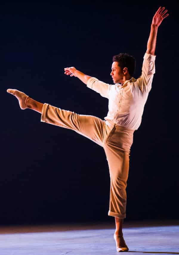 Hurst dancing in Rambert's Transfigured Night by Kim Brandstrup last November.