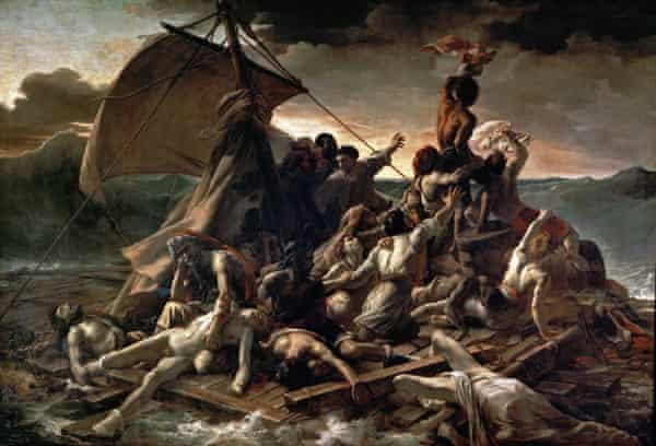 Survival of the fittest... Géricault's The Raft of the Medusa.