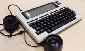 Tandy TRS-80 Model 100 portable computer from the GNM Archive